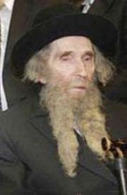 Rabbi Aaron Leib Shteinman
